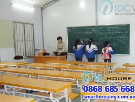 Nhà lắp ghép trường học – Giải pháp tối ưu cho vùng cao
