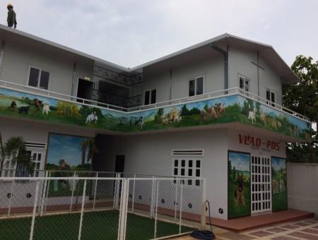 Xây nhà lắp ghép cho Trung tâm huấn luyện chó VLAD PDS ở Hồ Chí Minh