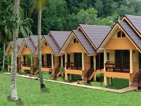 Các kiểu nhà bungalow kinh doanh du lịch tại Việt Nam