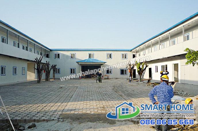 Nhà lắp ghép bệnh viện trường học SH 01