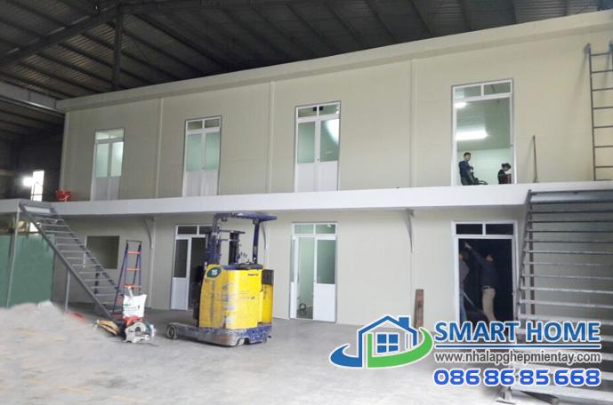 Nhà lắp ghép phòng điều hành SH 01