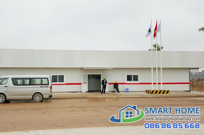 Nhà lắp ghép phòng điều hành SH 04