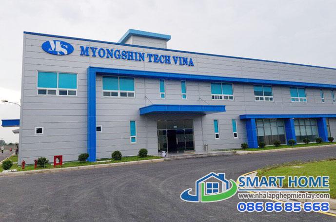 Nhà lắp ghép xưởng – nhà máy SH 02