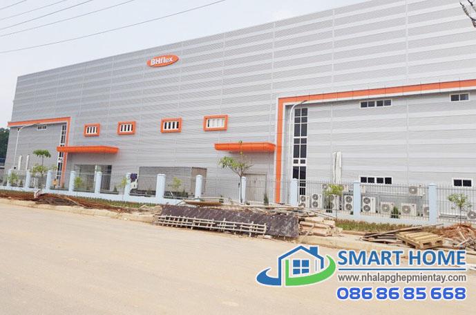 Nhà lắp ghép xưởng – nhà máy SH 03