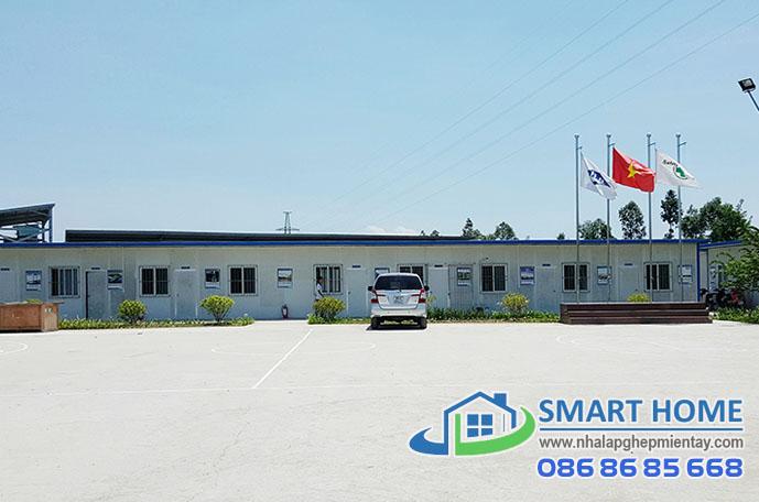 Nhà lắp ghép văn phòng SH 01