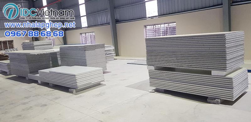 Nhà máy sản xuất tôn panel các loại IDC Việt Nam