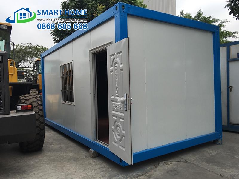 Nhà lắp ghép container nhanh