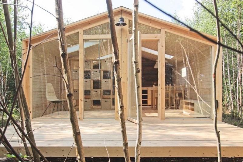 nhà lắp ghép nhanh bằng gỗ
