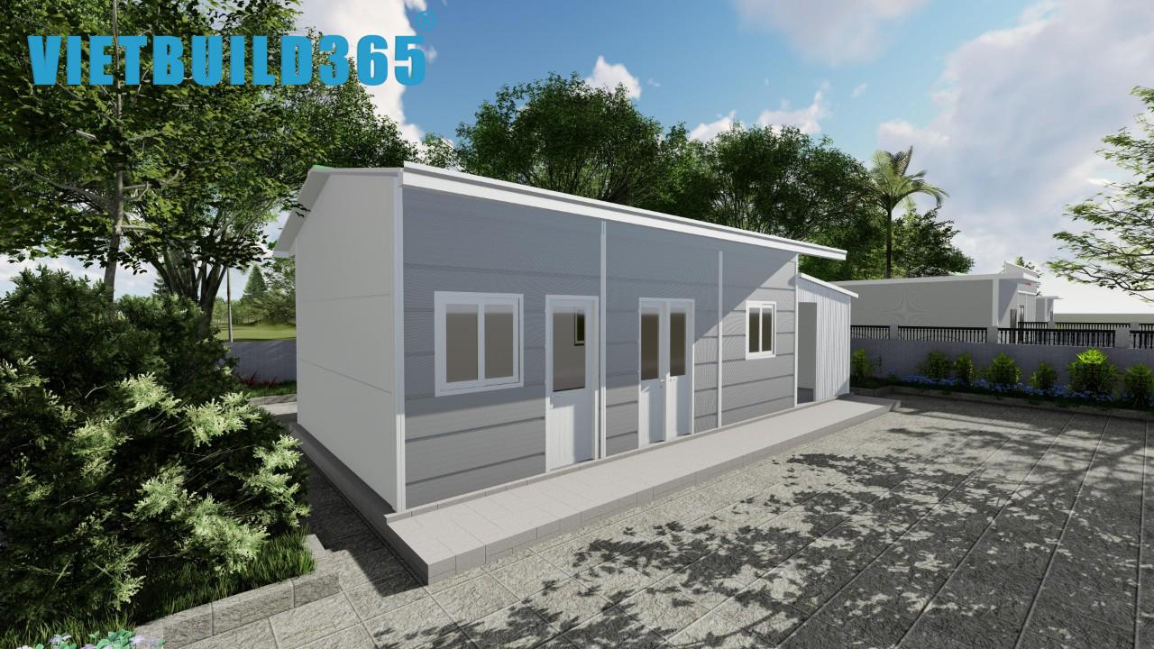 Mô hình nhà ở dành cho cán bộ