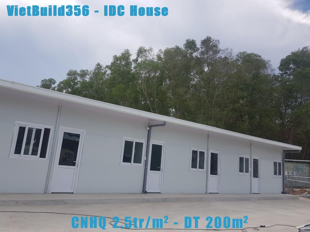 Nhà lắp ghép CNHQ giá 2.5tr/m2
