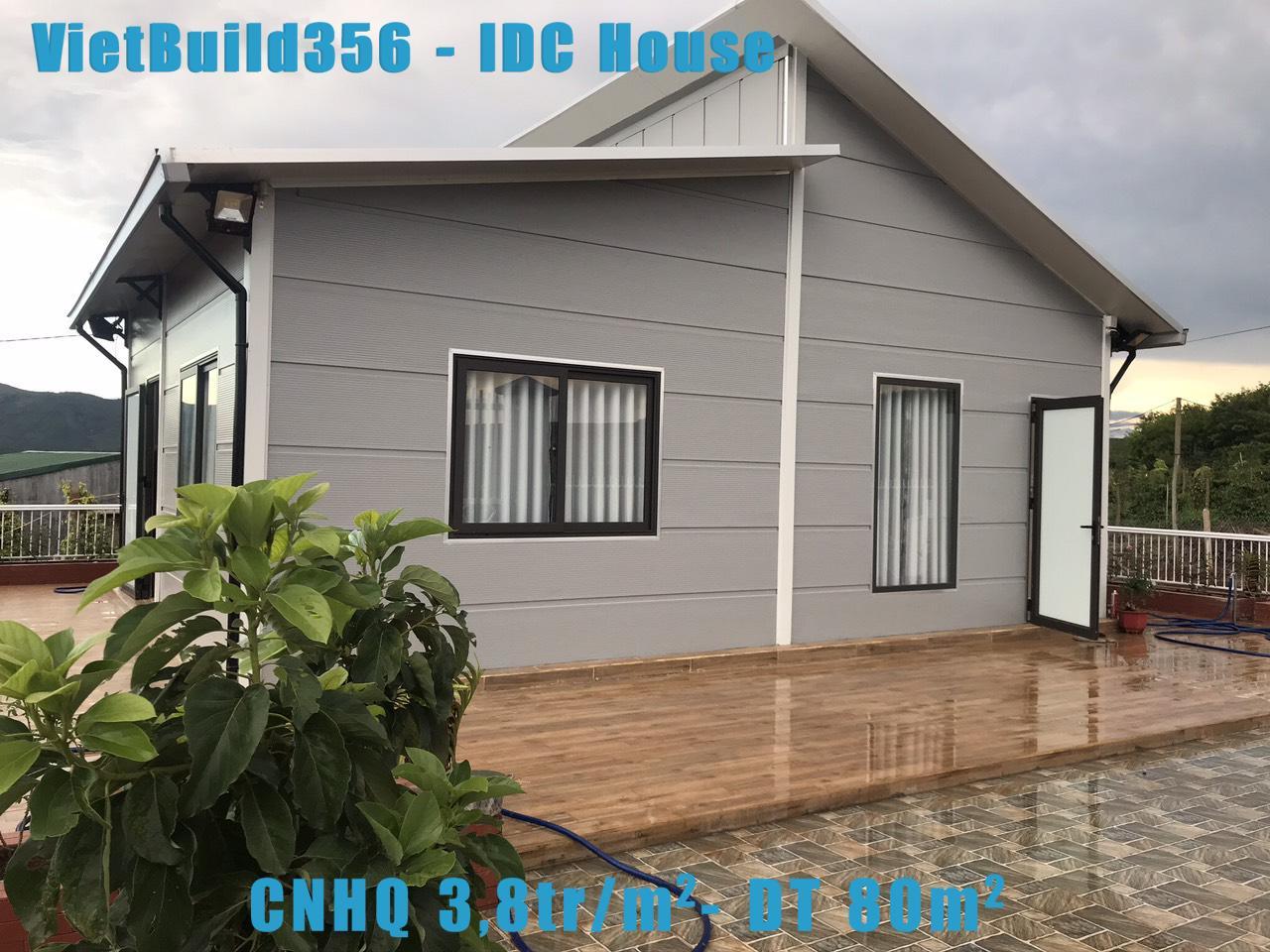 Nhà lắp ghép CNHQ giá 3.8tr/m2